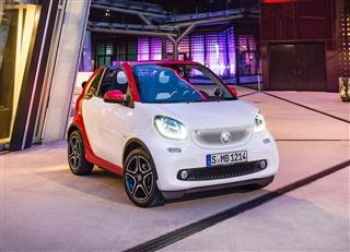 全新smart fortwo敞篷版车型官图发布