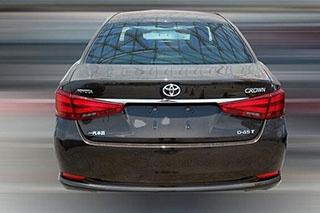 国产全新皇冠2.0T车型实车 有望拉低售价