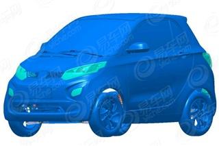 众泰芝麻E30电动车申报图曝光 或9月上市