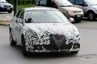 阿尔法·罗密欧Giulietta改款车型谍照曝光