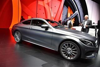 2015法兰克福车展 全新奔驰C级Coupe亮相