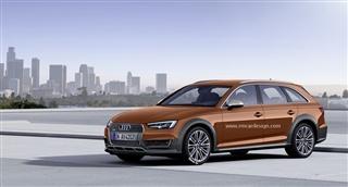 全新奥迪A4 allroad将于日内瓦车展发布