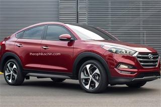 韩国版宝马X4 现代或将推出途胜Coupe