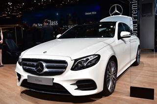 全新奔驰E级图解 尺寸更大/设计更奢华