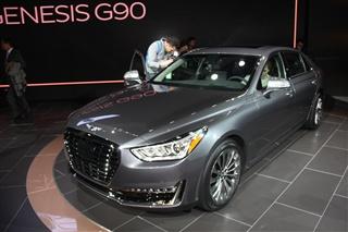 Genesis G90发布 将取代雅科仕成旗舰车型