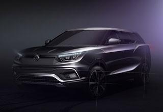 双龙两款新车预告图发布 日内瓦车展亮相