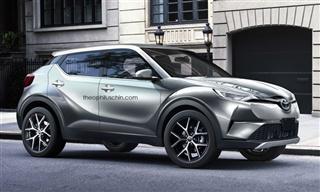 丰田C-HR将亮相日内瓦车展 2016年底投产
