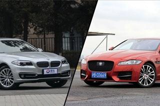 豪华与运动谁更均衡 捷豹XF对比宝马5系