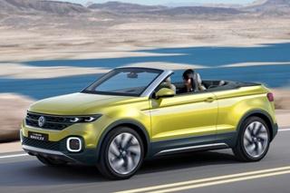 大众小型敞篷SUV官图发布 或2018年量产