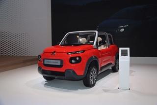 雪铁龙发布e-Mehari概念车 时尚大牌设计