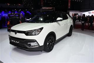 双龙蒂维拉XLV亮相日内瓦 车身加长/增7座