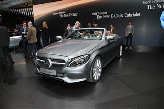 2016日内瓦车展 奔驰C级敞篷版将正式亮相
