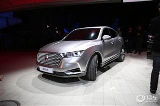 宝沃BX6 TS概念车发布 紧凑级Coupe SUV