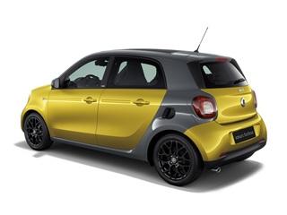 全新smart forfour预售价公布 13.8万起售