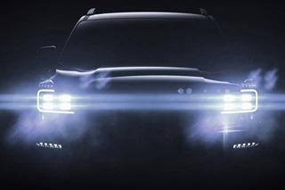 广汽传祺GS8预告图发布 定位中型7座SUV