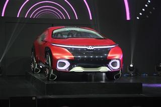 奇瑞FV2030概念车亮相 新品牌战略发布