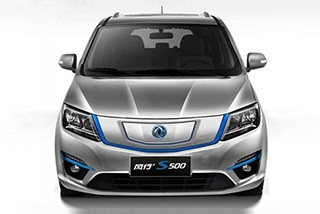 东风风行S500电动版亮相北京车展