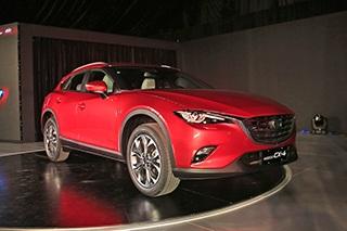 马自达CX-4全球首发 预计6月国产上市