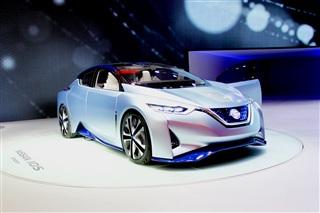 日产IDS概念车亮相 搭载日产自动驾驶技术