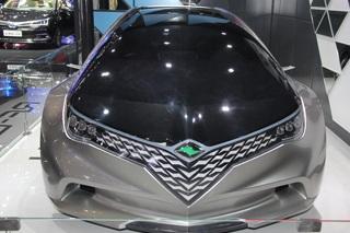 朗世全新概念车亮相 或为纯电动车型