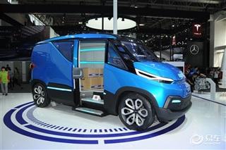 依维柯VSION概念车亮相2016北京车展