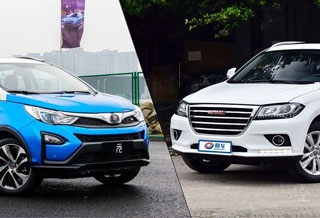 自主品牌小型SUV对决 比亚迪元对比哈弗H2