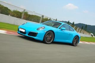 赛道体验新款保时捷911 涡轮开启进化之道