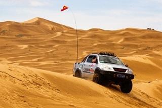 纵横越野的盛会 更是乌海沙漠中的那达慕