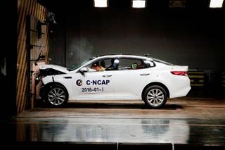 2016年首批C-NCAP成绩解析 6款获五星评价