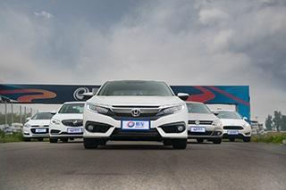 十代思域领衔 五款热门车型性能测试