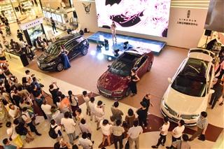 上海宝利德林肯 长宁龙之梦购物中心车展