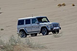 被戳中G点的感觉 沙漠体验奔驰G-Class