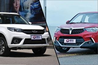 瑞虎3对比中华V3 8万元自主SUV怎么选