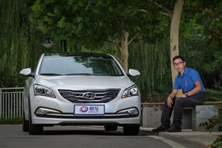 厚重少文 三主笔点评北京现代名图1.6T