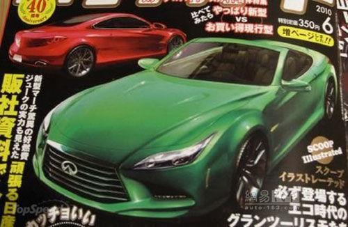 新一代英菲尼迪g车型曝光高清图片