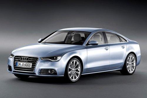 奥迪换代A6效果图 或明年上海车展亮相高清图片