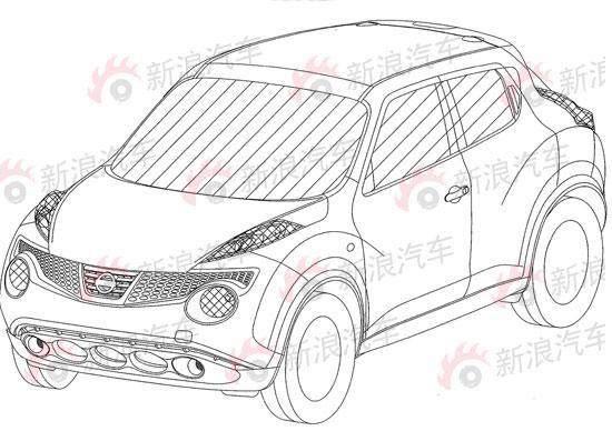 日产10万元SUV级别新车JUKE 国内正式申报