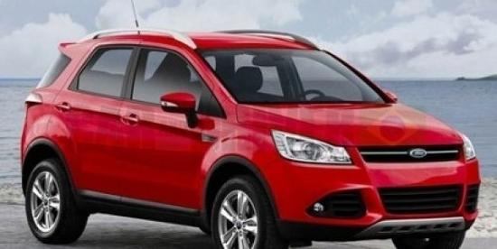 福特EcoSport SUV图片曝光 明年1月发布