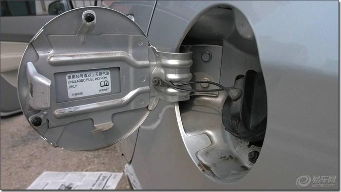 赛欧汽车油箱结构