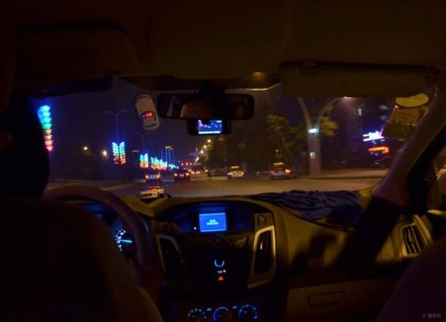 【【易点易评团】车主评新福克斯夜间行车驾驶