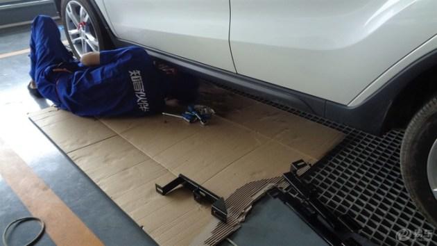 空间很大,就是后备箱小了一些 -长安CS35口碑高清图片