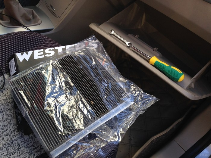 史诗巨作 之 荣威350更换空调滤芯篇高清图片