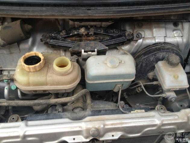 【新五菱之光6390a3换发动机冷却液
