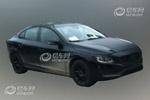 沃尔沃新S60国内谍照曝光 或上海车展亮相