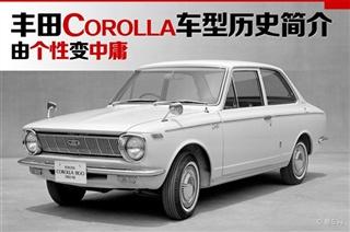 个性变中庸 丰田Corolla十代车型历史简介