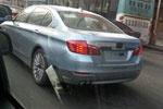 华晨宝马5系混动版谍照曝光 或将近期上市