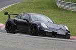 新款保时捷911 GT3 RS谍照 预计10月发布