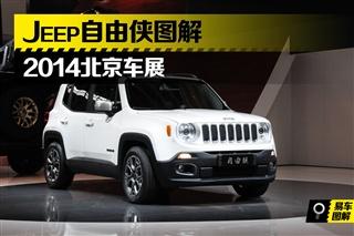 2014北京车展 Jeep小型SUV自由侠图解