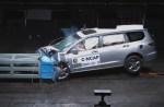 新一代广本奥德赛 40%正面偏置碰撞试验