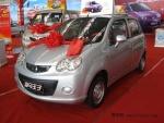 海马王子微型轿车亮相实拍 北京车展上市